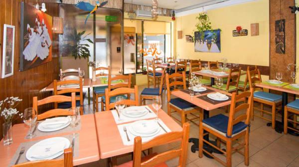 visão geral da sala - Oxalá Restaurante Baiano, Leça da Palmeira