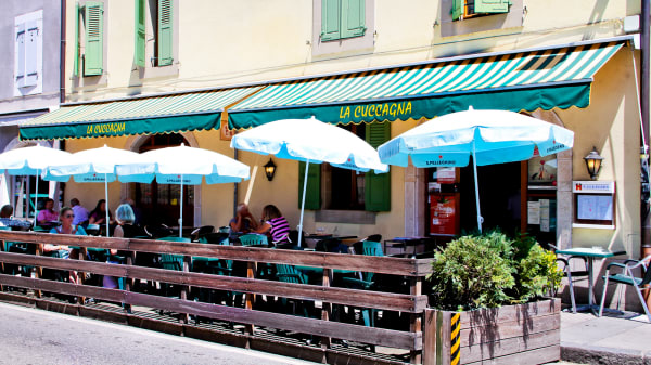 Terrasse - La Cuccagna, Carouge