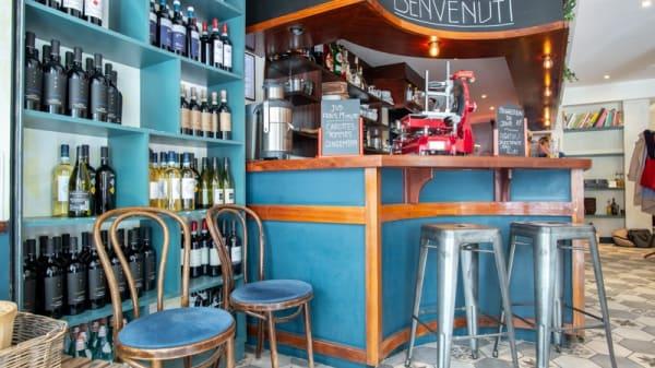 Vue du bar - Ancora Tu, Paris