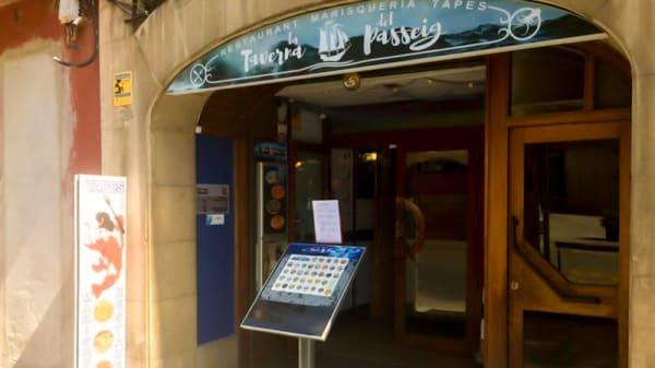Entrada - La Taverna Del Passeig, Vic
