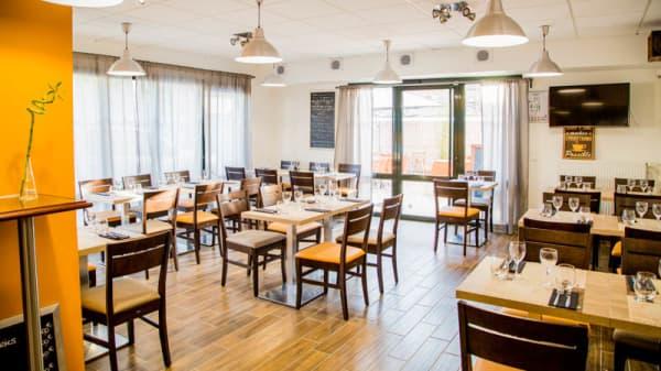 Salle du restaurant - Le Comptoir des Saveurs, Plailly