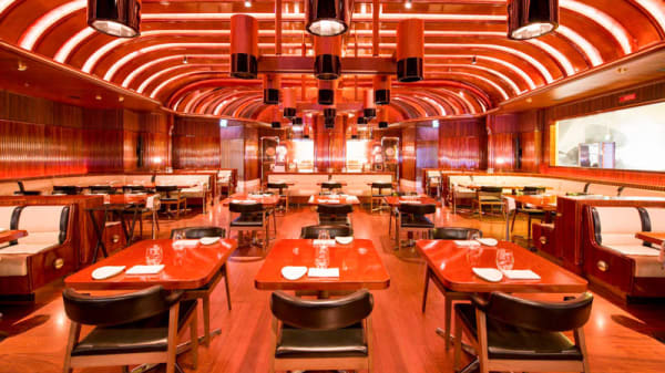 Vista sala - The Stage Dining, Milan