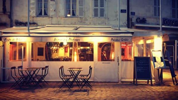 Extérieur - Le Bistrot des Pêcheurs, La Rochelle