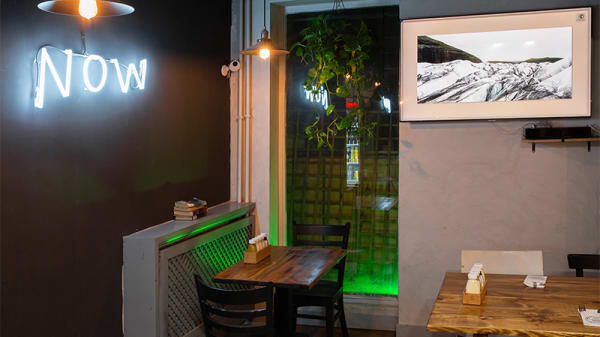 Vista sala - Juanchis Burgers - C. Peñalver, Madrid