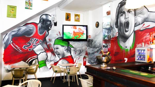 Sala do restaurante - FX Restaurant & Sports Bar, Funchal
