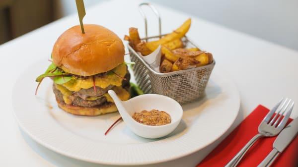Suggestion de burger - La Table des Frangins, Paris