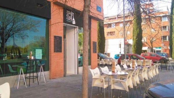 Vista terraza - Gratin Art, Sevilla