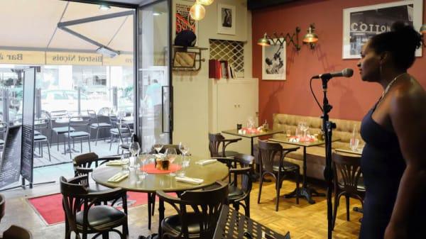 Intérieur Jazz Live - Le Bistro Dalpozzo, Nice