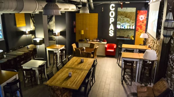 Sala del restaurante - Non Solo Brasas, Barcelona