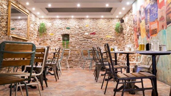 vue de la salle - Caffe Luigi, Nantes