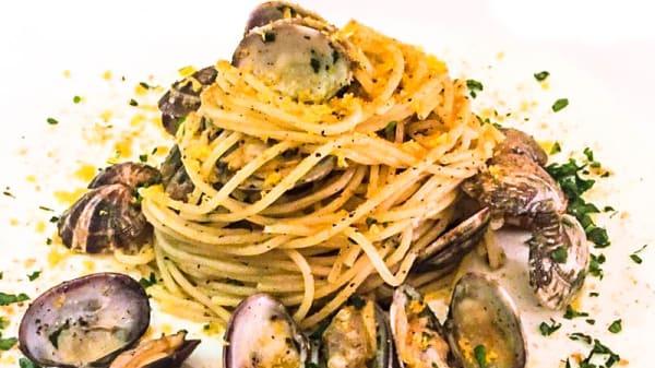 Spaghetti con le vongole - Faro, Palau