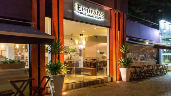 Restaurante - Emirates Bar e Cozinha Árabe, São Paulo
