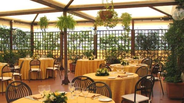 terrazza - Il Focolare dei cinque Sensi, Rome