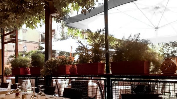 terrazza - Al giardinetto da Severino, Venezia