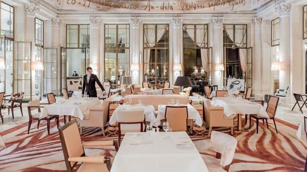 Salle du restaurant - Le Dalí - Hôtel le Meurice - Alain Ducasse, Paris