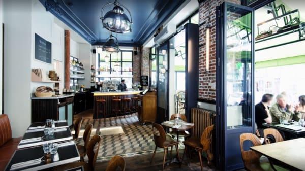 Salle du restaurant - Les Polissons, Paris