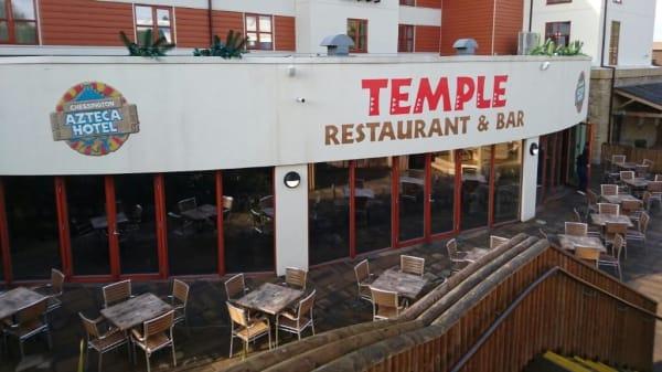 Restaurant - Chessington World of Adventure Resort - Temple Restaurant & Bar, Chessington