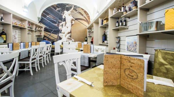 Sala del ristorante - 56 Rosso, Florence