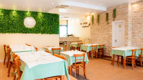 Vista do interior - Atithi Indian Vegetarian Restaurant, Lisbon