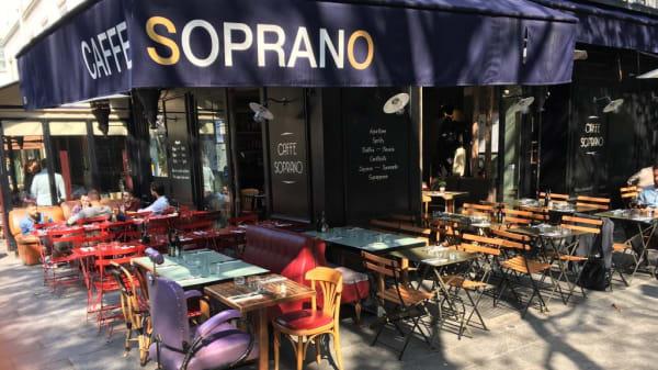 terrasse - Café Soprano, Paris