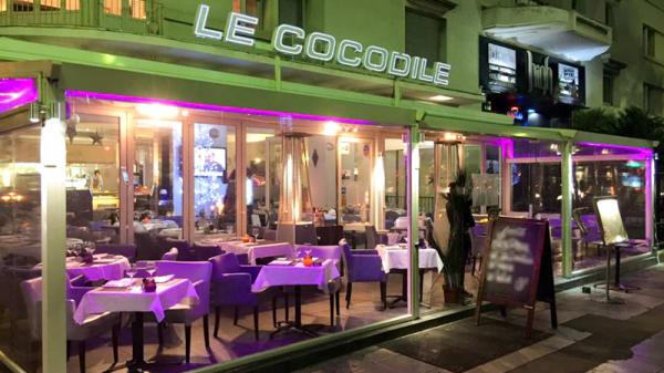 Façade du restaurant - Le Cocodile, Nice