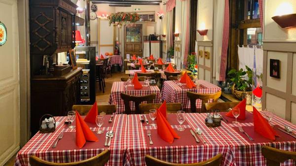 Salle du restaurant - La Grande Vitesse, Strasbourg