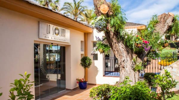Entrada - La Solana Bar & Restaurant, La Manga Club