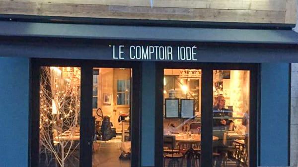 Façade rue - Le Comptoir Iodé, Paris