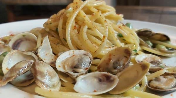 spaghetti lupini e favette - Convivio, Sorrento