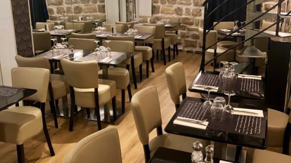 Salle du restaurant - Le Diamant de Paris, Paris
