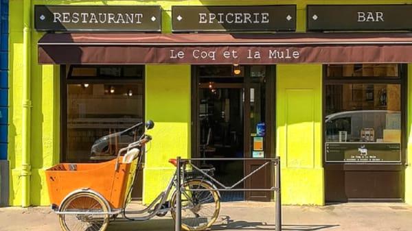 Devanture - Le Coq et la Mule, Lyon