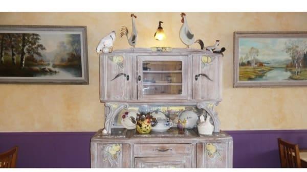 Détail de décoration - Chez Pouic-Pouic, Sainte-Reine-de-Bretagne