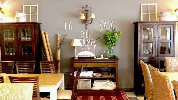 Sala del restaurante - La Casa del Carmen, Toledo