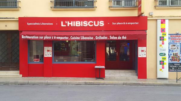 Devanture - L'Hibiscus, Perpignan