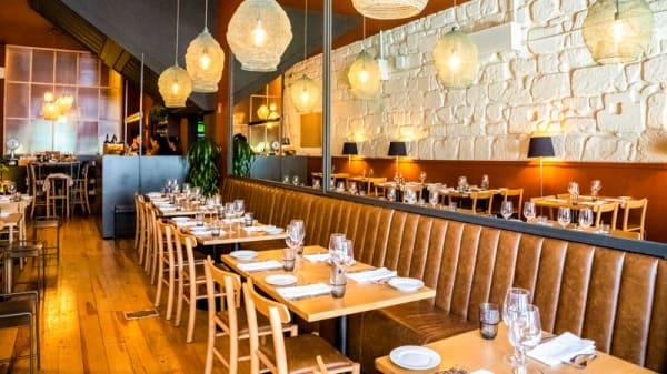 Vista do interior - Restaurante Cozinha Cabral, Porto