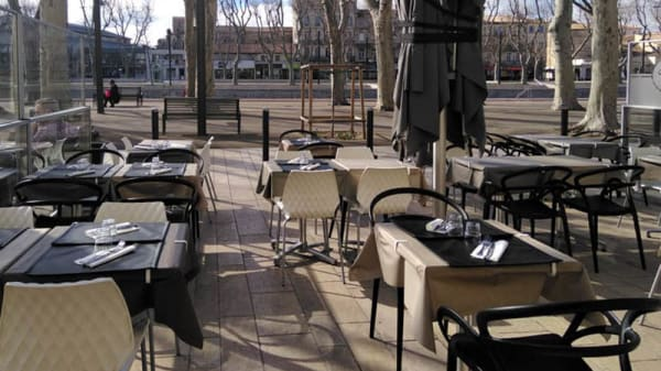 Terrasse - Chambourlettes, Narbonne