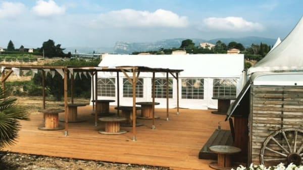 terrasse - La Ferme de Nice, Nice