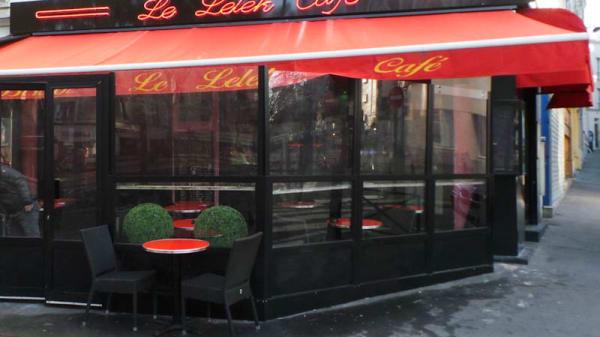 Terrasse - Le Lelek café, Paris