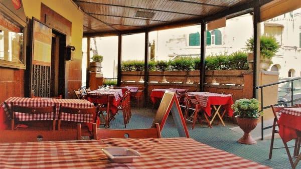 Giardino esterno - I Tre fratelli, Rome