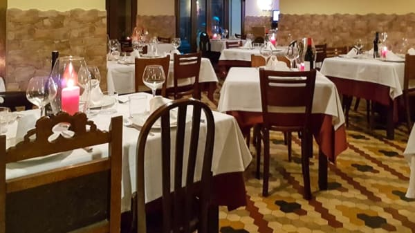 Sala del restaurante - El Arenal del Carmen, Valencia