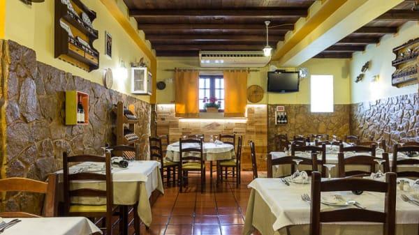 Vista da sala - Restaurante Saloio, Malveira