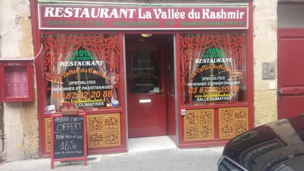 La Vallée du Kashmir, Metz