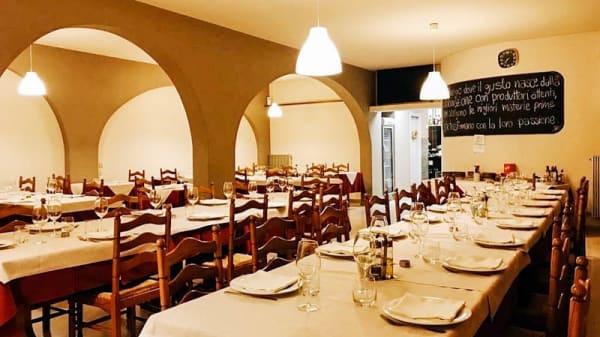 Vista sala - Alla Vecchia Cucina, Peseggia