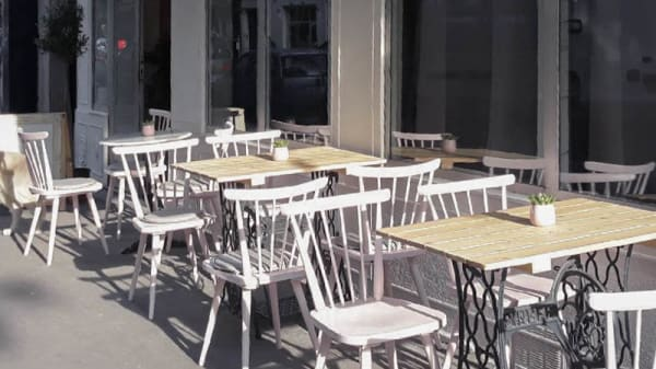 Terrasse - Bogibar, Paris