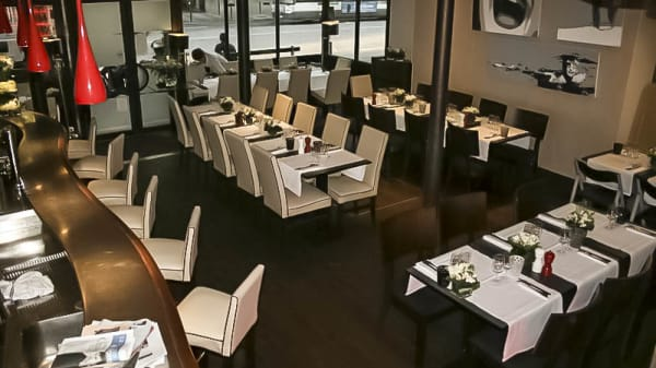 vue de la salle - Le 154 Restaurant, Paris