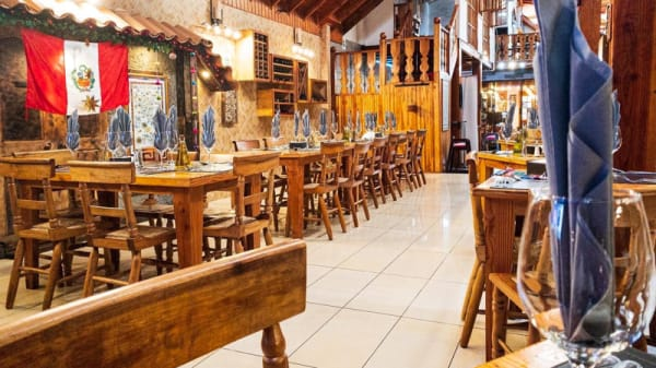 Vista de la sala - Entre Cumbres International Restaurant, Vallenar