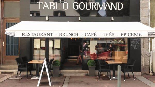 Vue devanture - Tabl'O Gourmand, Lorient