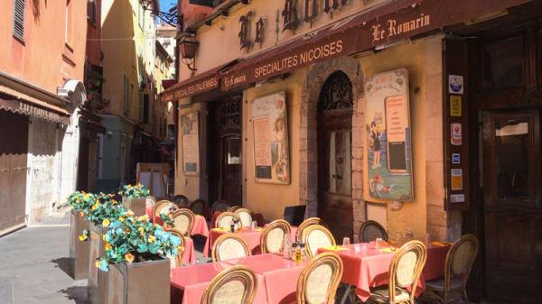 vue de la terrasse - Le Romarin, Nice