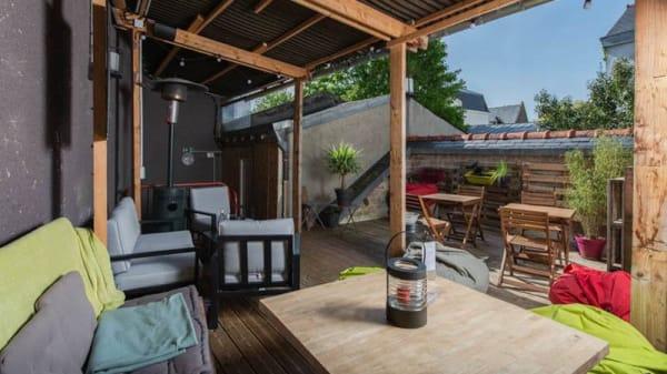 Terrasse - O Dix Vins, Quimper