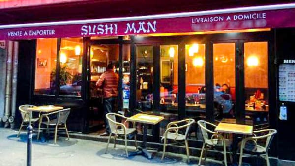 Entrée - Sushi Man, Paris